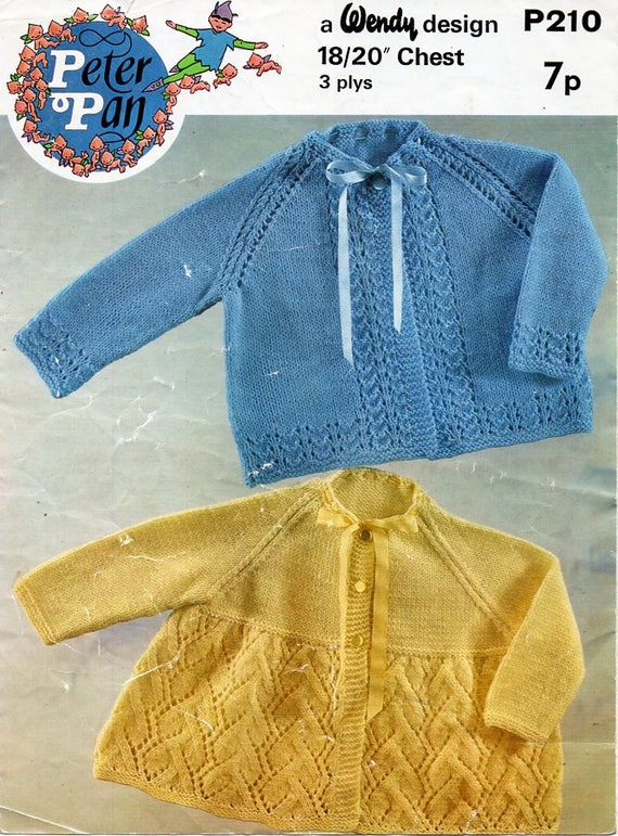 192f128a2df4 vintage baby knitting pattern pdf download 3ply baby matinee