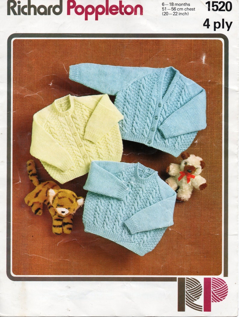 e631d28a8 Baby cardigans knitting pattern baby sweater cable panel cable