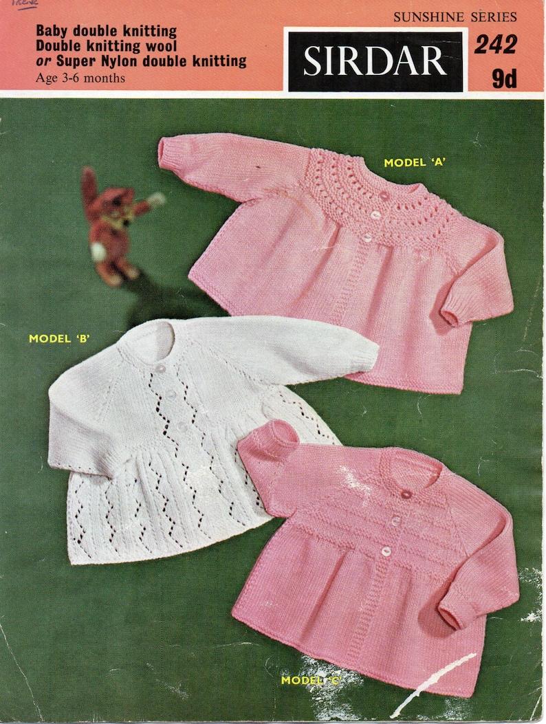 97562b0b5d52 SALE baby matinee coat knitting pattern matinee jackets lacy