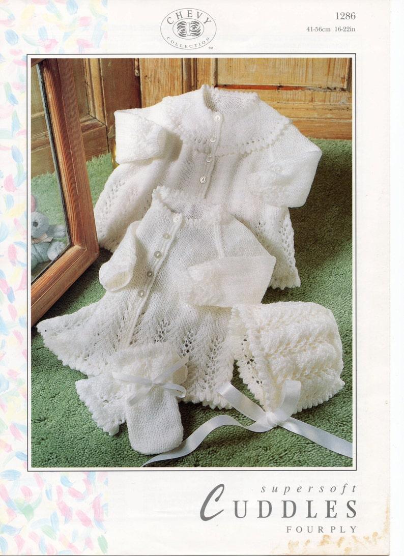 b7e29495456e Baby knitting pattern pdf baby matinee jacket matinee coat