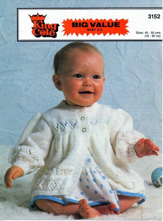 Baby matinee cardigan