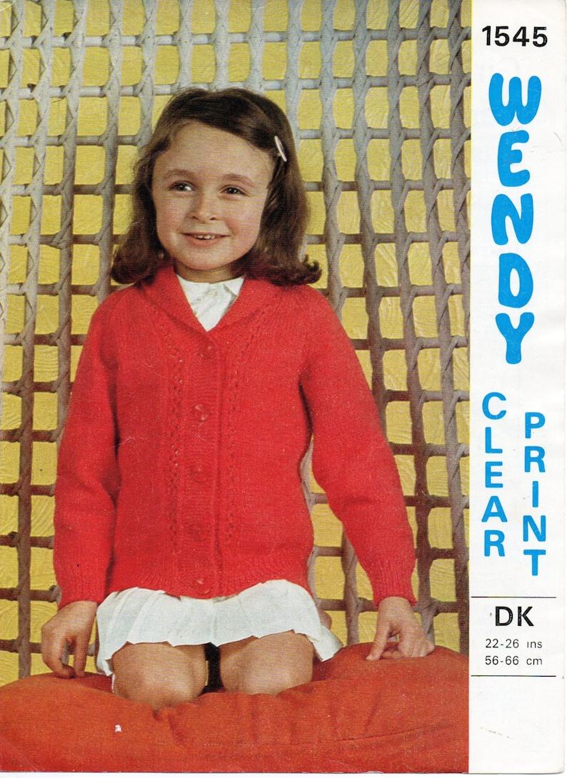 bd580646b Girls cardigan knitting pattern pdf childs shawl collar jacket