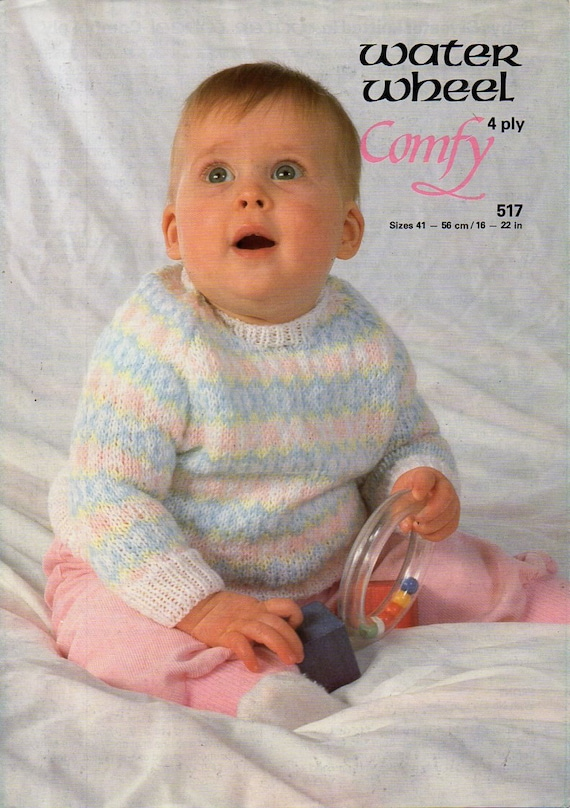 e32d100ae baby fair isle sweater knitting pattern pdf download 4ply baby