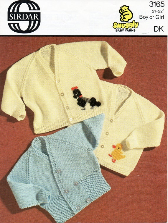 0c7398bfa4e6 vintage baby cardigan knitting pattern pdf crossover cardigan