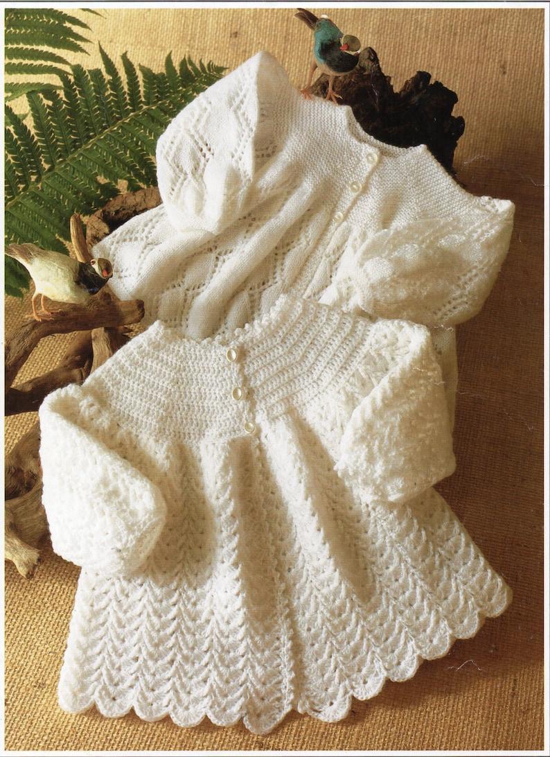 9c59ea72d357 Baby crochet matinee jacket crochet pattern matinee coat