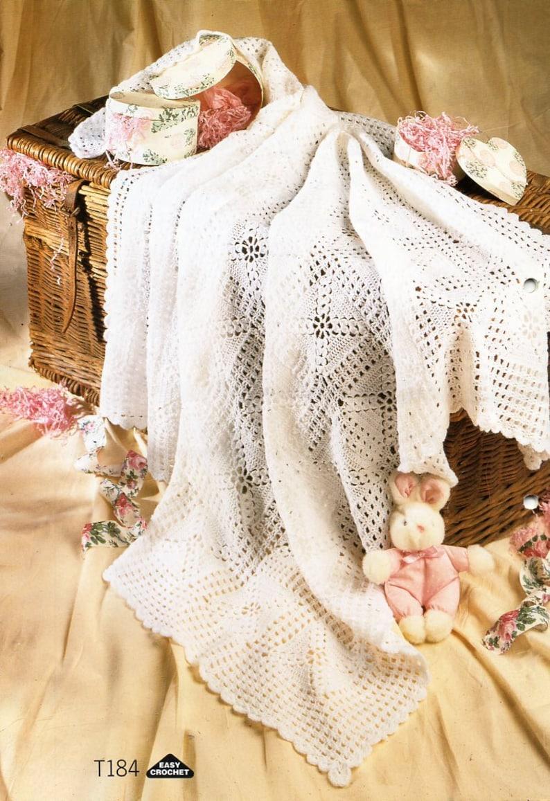 447f8431f Baby crochet shawl crochet pattern pdf square shawl