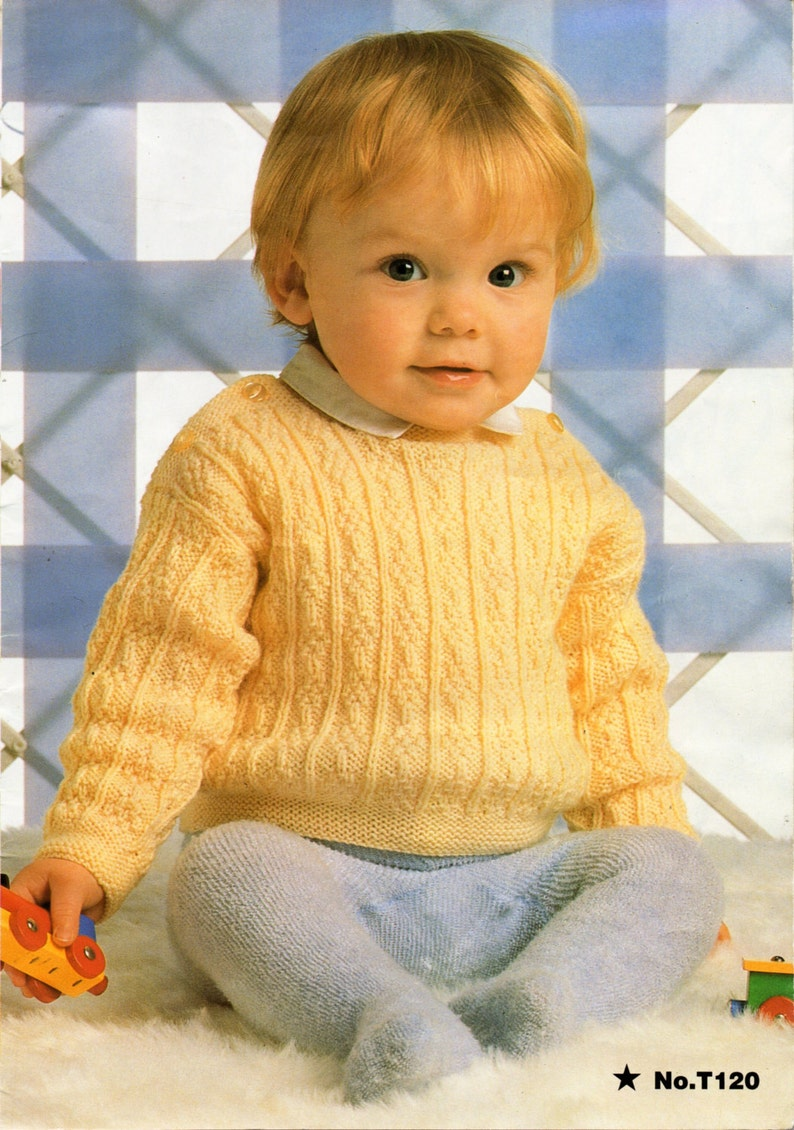 f0c37f6b8cb5 Baby Knitting Pattern Baby Sweater Baby Jumper Knitting