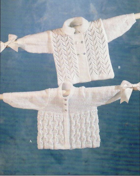 f95ba3539364 baby knitting pattern pdf baby matinee coats baby cardigans