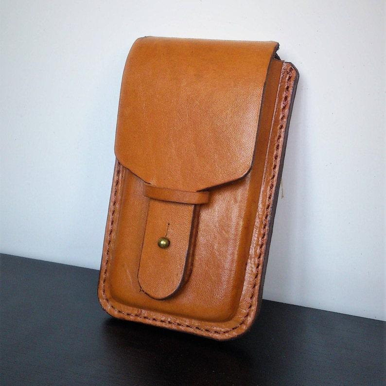 wholesale dealer 1c10a 92198 Handmade Leather Phone Holster Case iPhone 8, 5, 5S, 5C, 6, 6S,6plus,  6Splus 7, 7 plus