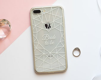 Heart Diamond- Bumper Phone Case for iPhone and Samsung
