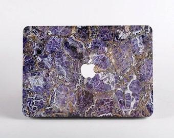 3d5cc88e41ab Purple Marble Macbook Case Design for Macbook Air 11 and 13 inch, MacBook  Pro 13 inch and 15 inch, MacBook Pro Non Retina, MacBook 12 inch