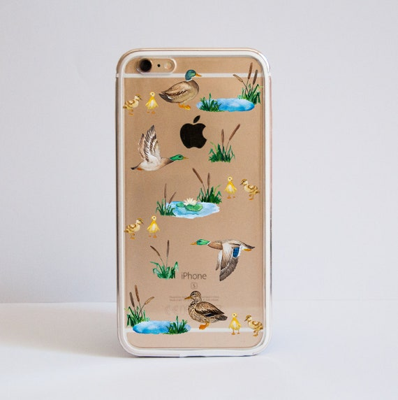iPhone XS and all iPhone 6 8 Plus 6s models 7 Plus Ducks Clear Protective Metal Bumper Phone Case for iPhone 7 iPhone X iPhone 8