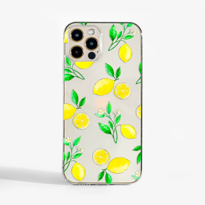 Clear Lemons phone case design for iPhone Cases  Samsung image 0