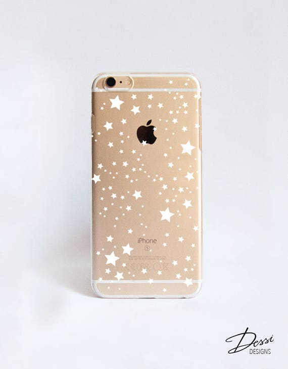 Clear Stars Phone Case Design For Iphone Cases Samsung Etsy