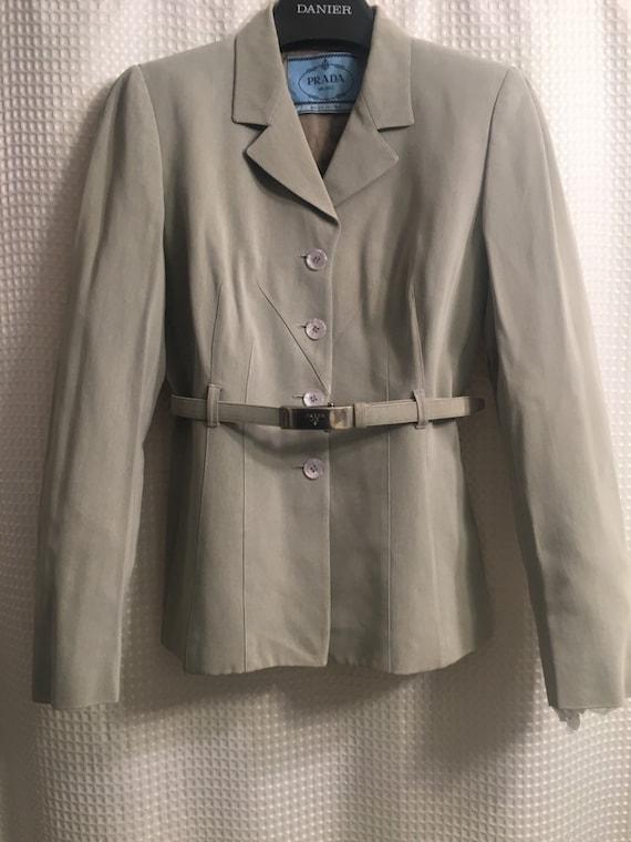 Women's PRADA designer suit.