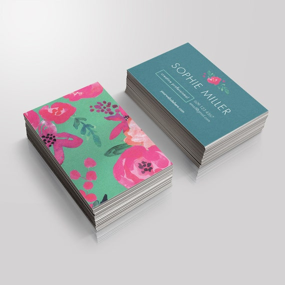 Instant Download Business Card Template Event Planner Etsy