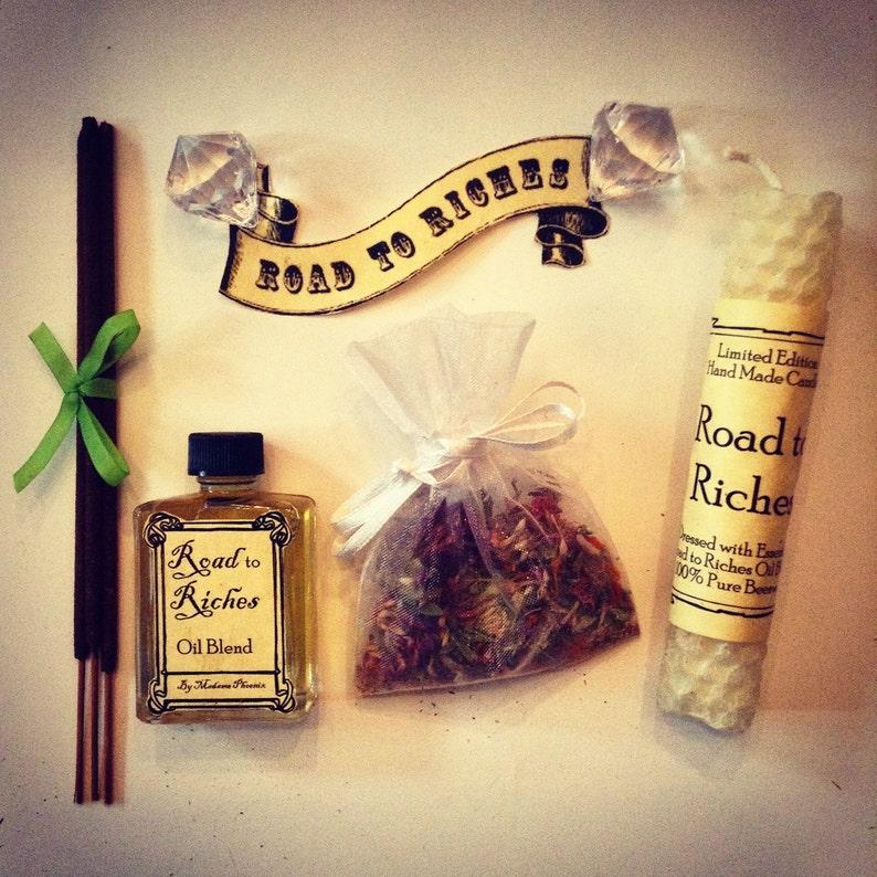 Prosperity magical spell kit