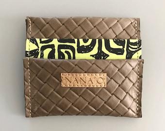 Stone Weave Wallet