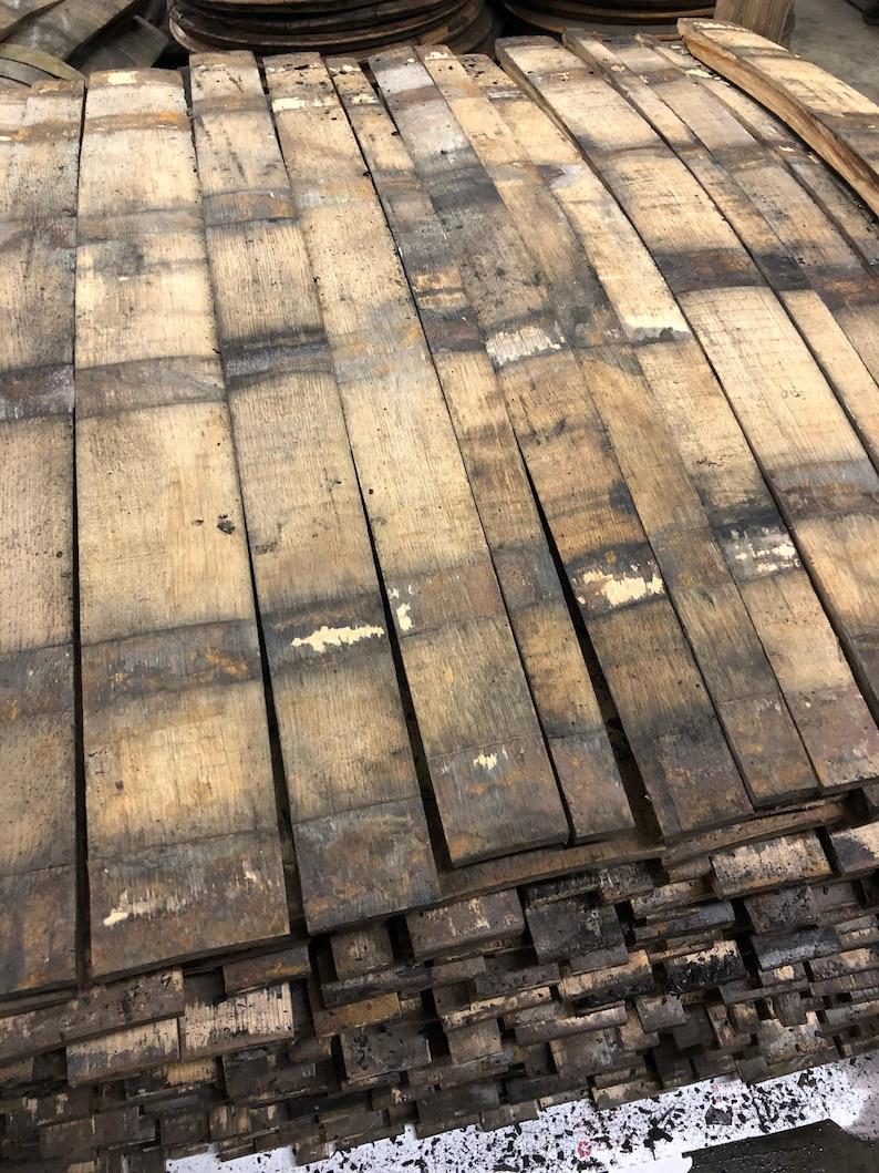 Bourbon Barrel Stave Whiskey stave bourbon wood barrel image 0