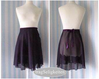 Ballet Wrap Skirts Purple Shades