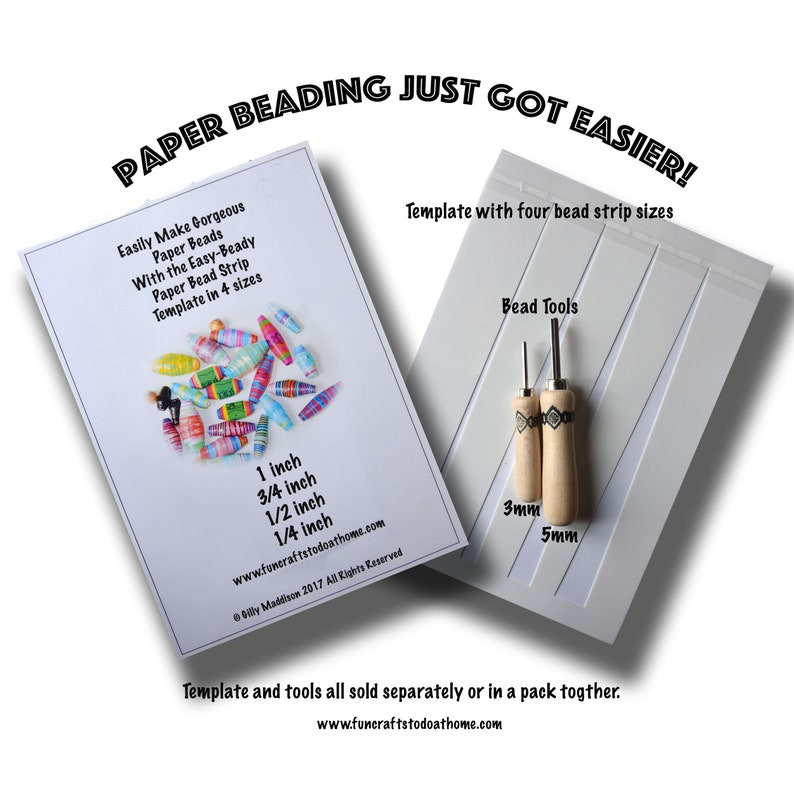 Free Gift Offer Paper Bead Making Tools. Buy the 3mm and 5mm image 0