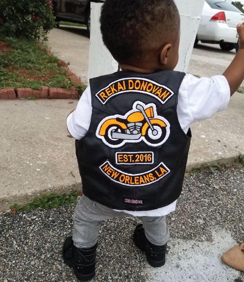 558505582 BABY BIKER 1st Birthday Patch Set Harley Davidson Baby | Etsy