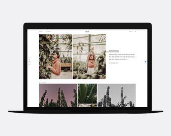 Blogger theme | SEIS + free installation