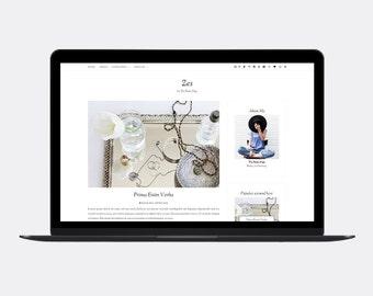 Responsive Blogger template | ZES