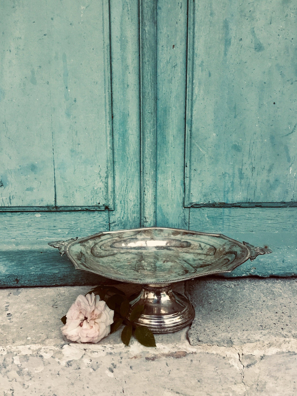 Silver Plate Fruit Bowl A Beautiful Violin Form Antique French Silver Plate Rose Or Fruit Bowl Table Decoration Centerpiece