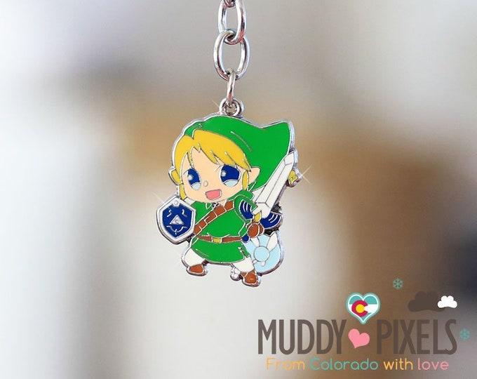 Kawaii enamel Zelda Link Keychain