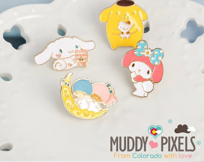 Kawaii Sanrio themed Pins! U choose
