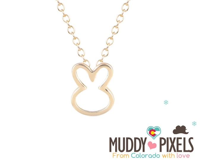 Tiny Bunny Necklace