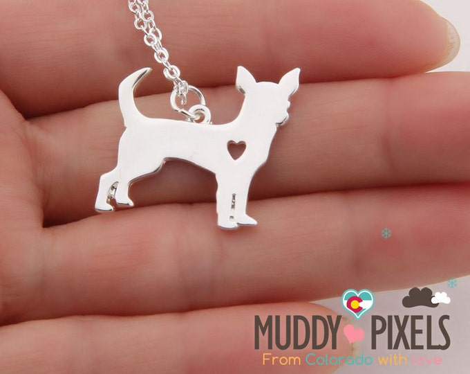 Charming little chihuahua Necklace