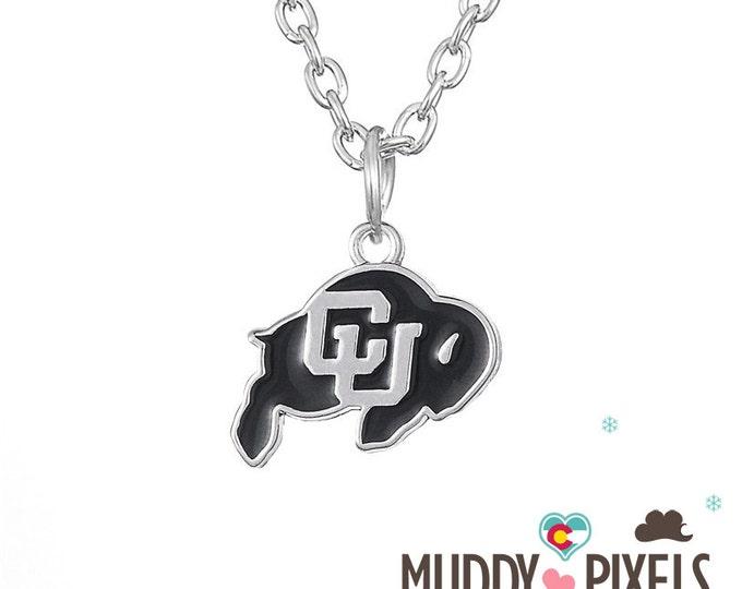Colorado Buffalo NCAA College Football Necklace!