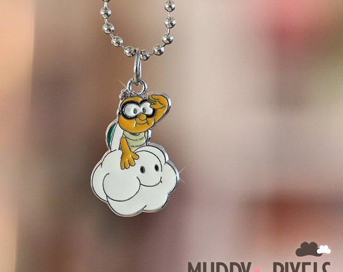 Mario Bros Necklace featuring Lakitu