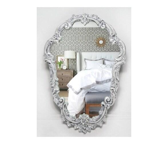 Vintage Classic Plaster Mirror