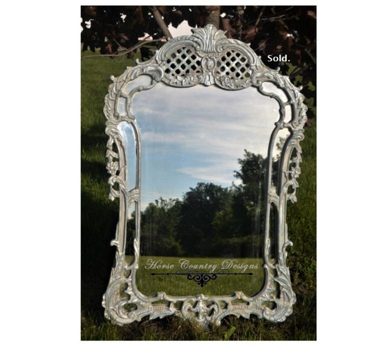 Sold - Baroque Vintage Mirror