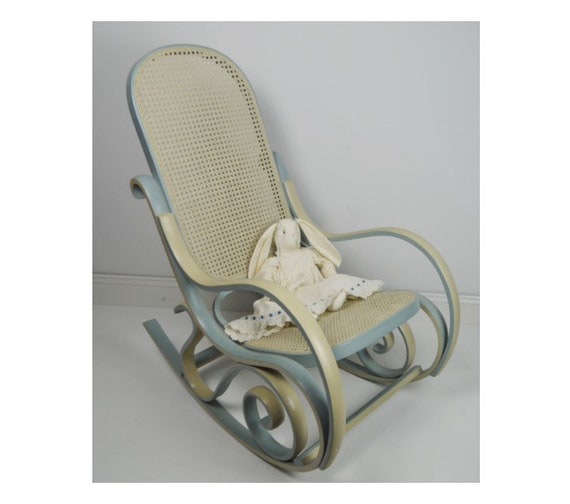 Vintage Bentwood Style Rocking Chair