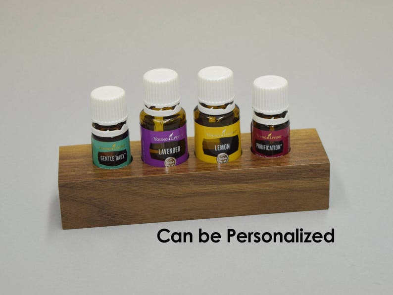 Essential Oil Display  FREE SHIPPING  Personalization image 0