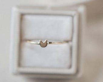 Tiny Cat Ring