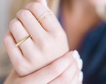 Long Bar Ring