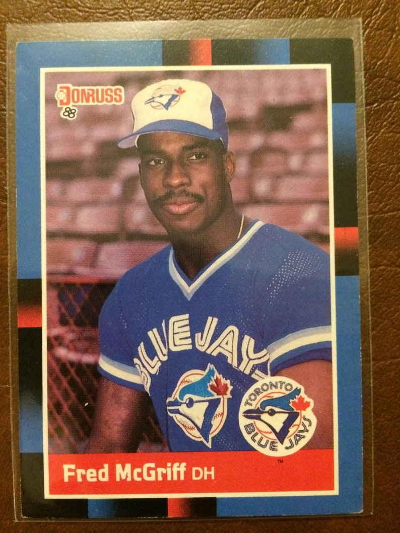 Fred Mcgriff 1988 1997 Baseball Cards
