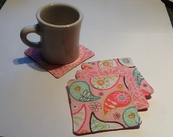 Handmade Quilted Coasters