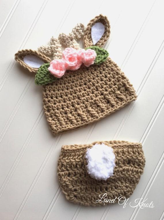 Crochet Chapeau De Cerf Chapeau Bébé Cerf Deer Antler Bonnet Etsy