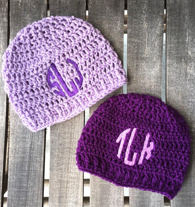 4e1f32e07397c crochet hats , embroidered beanie, crochet hat, monogram hats, personalized  winter hats, initital hat, customized crochet beanie
