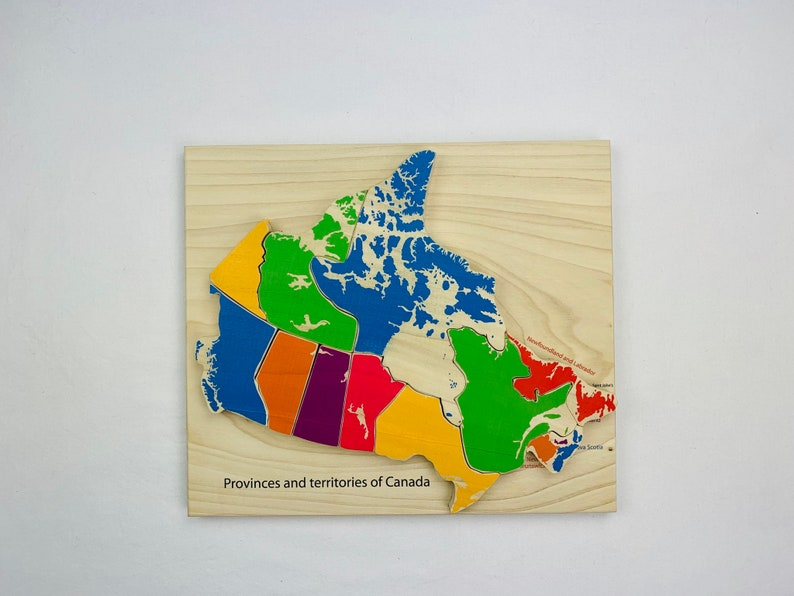 Map Of Canada Puzzle.Provinces And Territories Of Canada Canadian Map Puzzle Map Map Of Canada