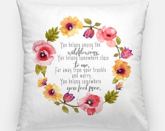 Tom Petty Pillow Cover Rock Music Legend Home Decor Tom Petty and the Heartbreakers Throw Pillow Case Sham Art Pillow Covers Pillowcases