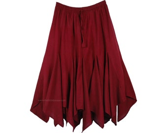 Wine Red Maternity Tossing Skirt Photography  Skirt Only