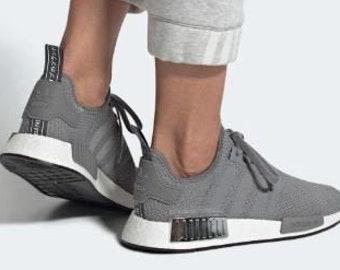 Chrome Swarovski Adidas NMD Runner Shoes