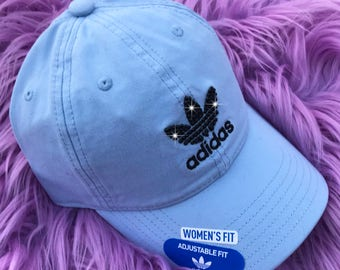 521334df Swarovski Baby Blue Adidas Hat